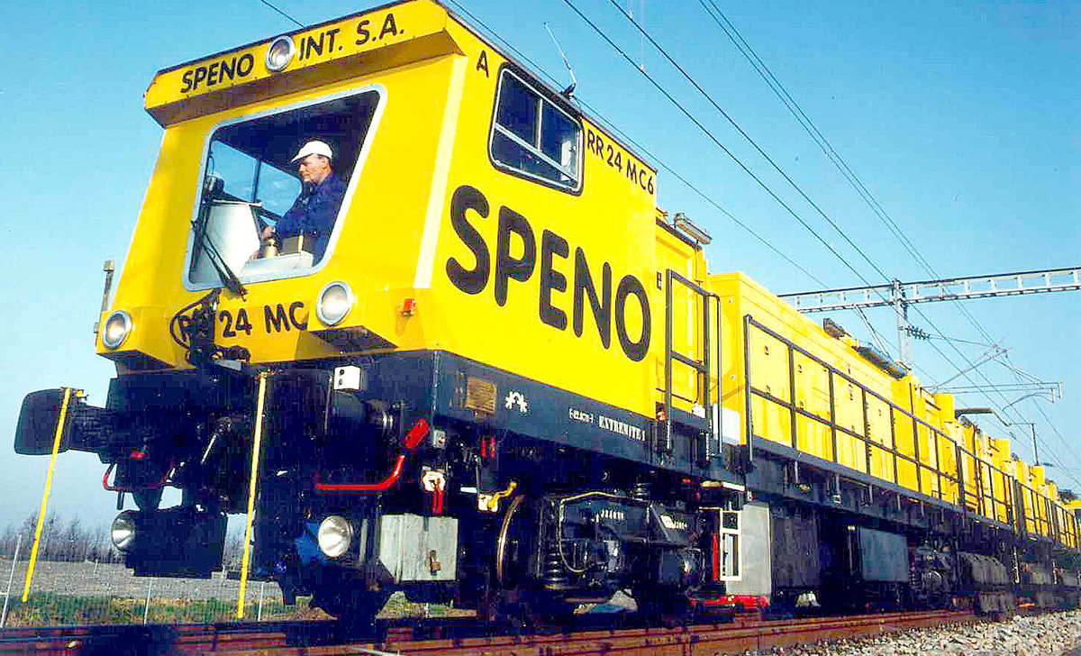 Speno International – A full range of Machines